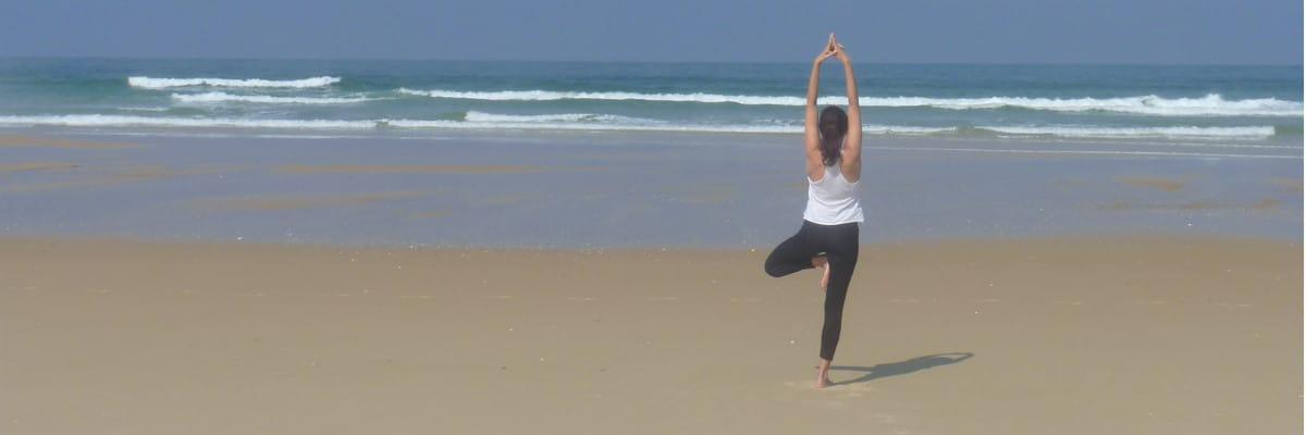 yoga mimizan plage, Landes